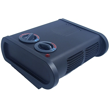 True North 9206CABBX Portable Electric Space Heater, 1500 watts, Black