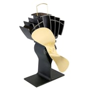 Ecofan UltrAir 810CABBX  Wood Stove Top Fan, Gold Blade