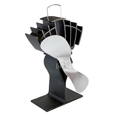 Ecofan UltrAir 810CAKBX Wood Stove Top Fan, Nickel Blade