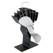 Ecofan UltrAir 810CAKBX  Wood Stove Top Fan, Nickel Blade