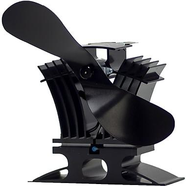 Ecofan BelAir 806CAXBX Natural Gas/Propane Stove Fan, Black Blade