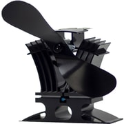 Ecofan BelAir 806CAXBX Natural Gas/Propane Stove Fan, Black Blade