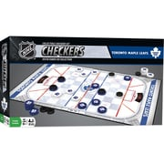 Masterpieces Puzzle Company NHL Collectible Checkers Set, Toronto Maple Leafs