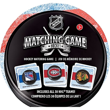 Masterpieces Puzzle Company NHL Hockey Matching Game
