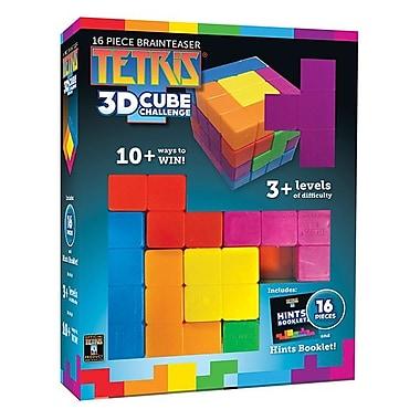 Masterpieces Puzzle Company Tetris, 16 Piece Brainteaser 3D Cube Challenge