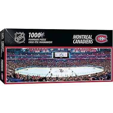 Masterpieces Puzzle Company – Casse-tête Panoramique LNH, 1000 pièces, Canadiens de Montréal