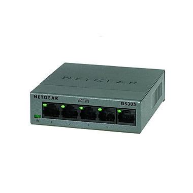 Netgear – Commutateur Ethernet SOHO GS305, 5 ports