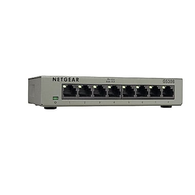 Netgear – Commutateur Ethernet SOHO GS308, 8 ports