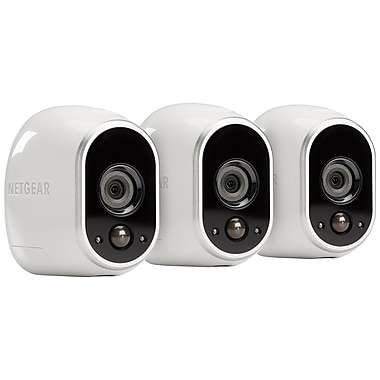 Netgear – Système de sécurité intelligent Arlo VMS3330, 3 caméras Arlo