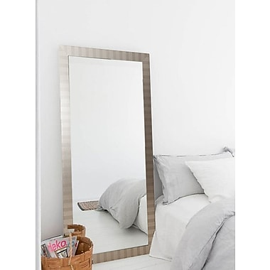 American Value Current Trend Stripes Wall Mirror; 71'' H x 32'' W x 0.75'' D