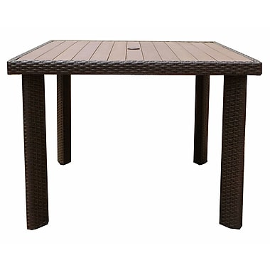 WorldWideWicker Tampa Dining Table