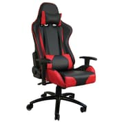 H&D Restaurant Supply, Inc. Hi Back Style Racing Gaming Chair; Red