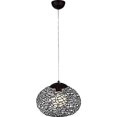 Warehouse of Tiffany Aaliyah 1-Light Globe Pendant