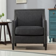 Alcott Hill Turberville Club Chair; Charcoal