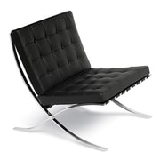 Malik Gallery Collection Leather Lounge Chair