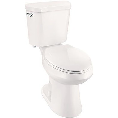all in one toilet seat. Premier Faucet High Efficiency All in One Elongated Two Piece Toilet w  In Seat Drive Locking Elevated