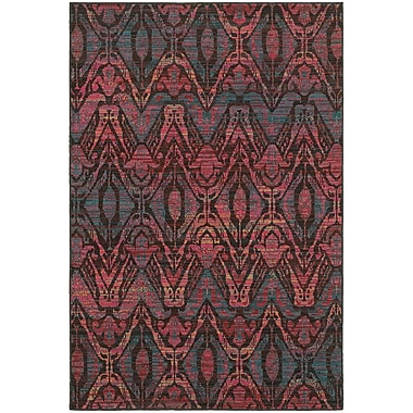 Bungalow Rose Rockwell Overdyed Brown/Multi Area Rug; 9'10'' x 12'10''