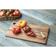 Fox Run Craftsmen Gourmet Wood Rectangular Everyday Cutting Board