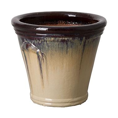Emissary Round Pot Planter; 19.5'' H x 23'' W x 23'' D