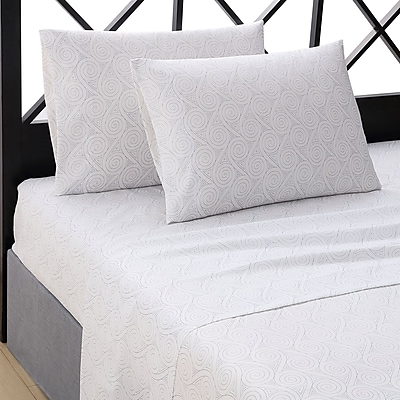 Ellison First Asia Nautilus 4 Piece Sheet Set; Twin WYF078280055179