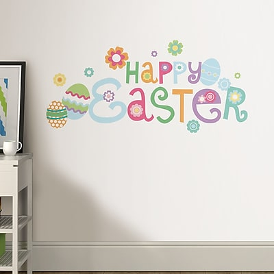 WallPops! Happy Easter Wall Decal