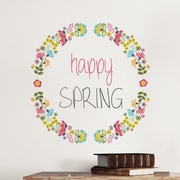 WallPops! Easter Wreath Wall Decal