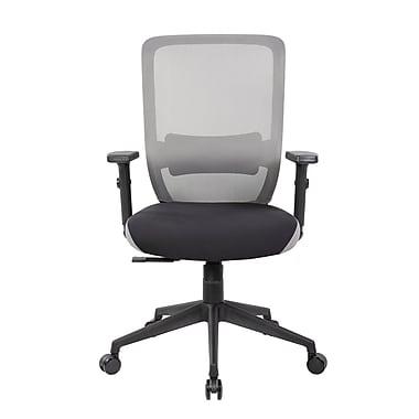 United Chair Industries LLC Lumbar Mid-Back Mesh Desk Chair ; Gray