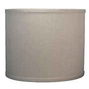 Urbanest Classic 12'' Linen Drum Lamp Shade; Natural