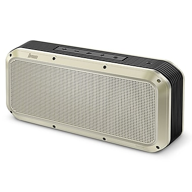 Divoom 2nd Generation Voombox-Party Rugged Portable Speaker, Bluetooth 4.1, Gold