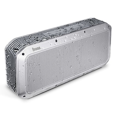 Divoom 2nd Generation Voombox-Party Rugged Portable Speaker, Bluetooth 4.1, Silver