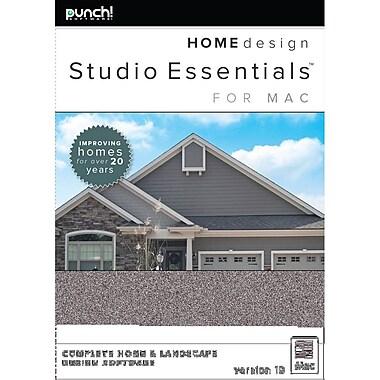 Punch! – Logiciel Home Design Studio Essentials pour Mac version 19, anglais