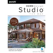 Punch! – Logiciel Home Design Studio pour Mac version 19, anglais