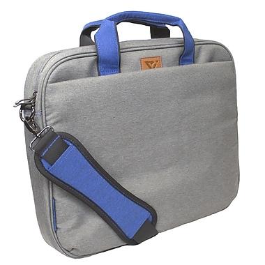 Viktor & Muse – Mallette City Slim pour portatif de 16 po, gris (SK201702103008)