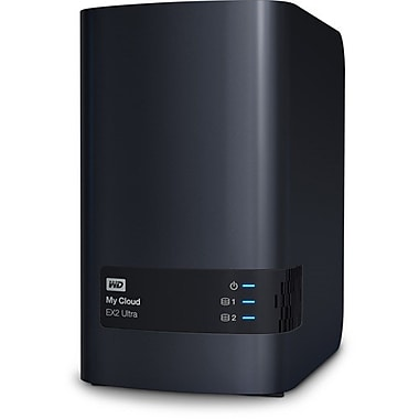 WD – Dispositif de stockage en réseau My Cloud EX2 Ultra
