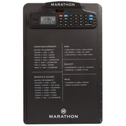 Marathon Clipboard Stopwatch Clock with Calculator