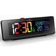 Marathon Spectrum Clock, Black