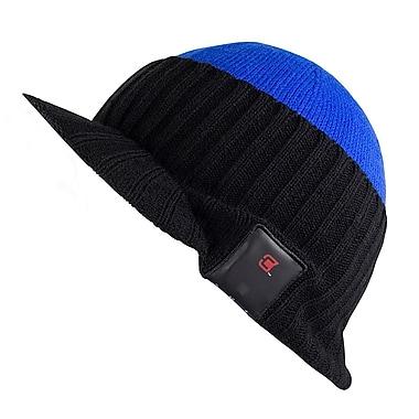 Caseco Blu-Toque Bluetooth Speaker Hat with Visor  09480f42a69