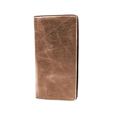 Caseco Fone Wallet Case for Cellphones, Universal, Dark Brown (CC-FW-DBR)