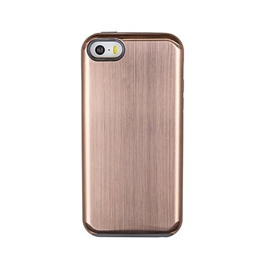 Caseco Flux Platinum Case for iPhone SE/5S/5C , Gold (CC-FX-IP5-GD)