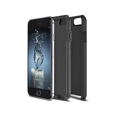 Caseco Flux Case for iPhone 6S, Black/Grey (CC-FX-IP6-BG)