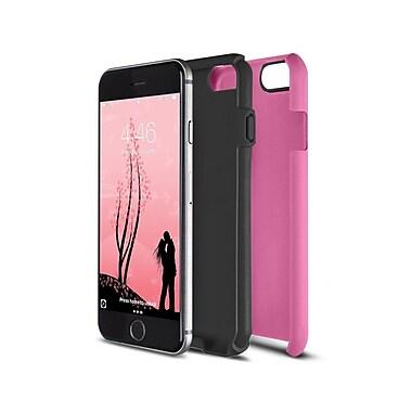 Caseco Flux Case for iPhone 6S, Pink/Black (CC-FX-IP6-PB)