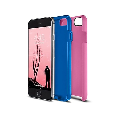 Caseco Flux Case for iPhone 6S, Pink/Blue (CC-FX-IP6-PBL)