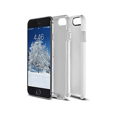 Caseco Flux Case for iPhone 6S, White/White (CC-FX-IP6-WH)