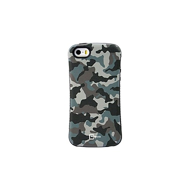 Caseco Shock Express Camo Impact-Resistant Case for iPhone 5S/SE, Delta (SEG-CM-IP5S-DL)