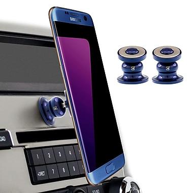 Caseco Premium Magnetic Core 360 Cell Phone Car Mount, Blue, 2/Pack