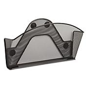 Safco Onyx File Pocket, Letter Size, Black Powder Coat (4176BL)