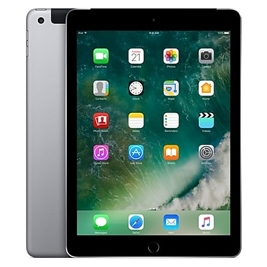 Apple – Tablette iPad, 9,7 po, WiFi + Cellular, puce Apple A9, Flash 128 Go, iOS 10