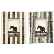 Creative Co-Op Smudge 2 Piece Picture Frame Set