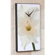 Wilson Studios Gladiolus Flower Wall Clock