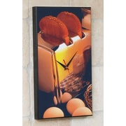 Wilson Studios Toaster Wall Clock
